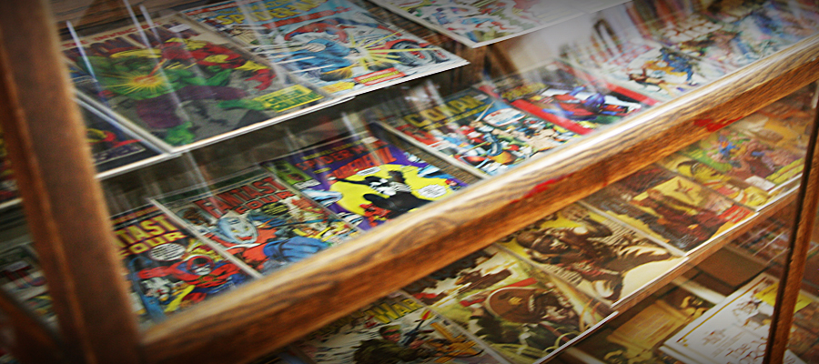 Comic book store in Winona MN